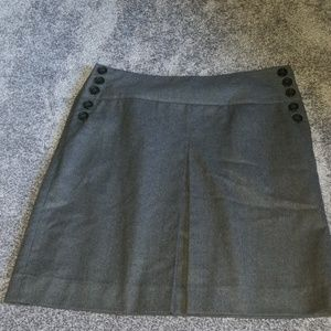 J. Crew wool pleated skirt